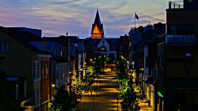 Søndergade by night