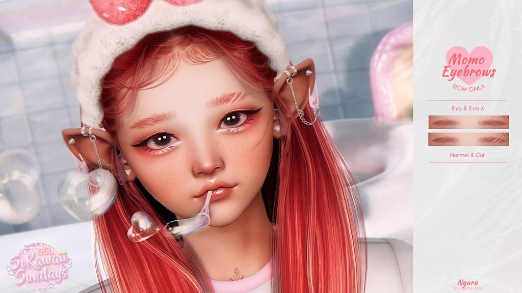 Nyaru – Momo Eyebrows for SoKawaii Sundays ♡