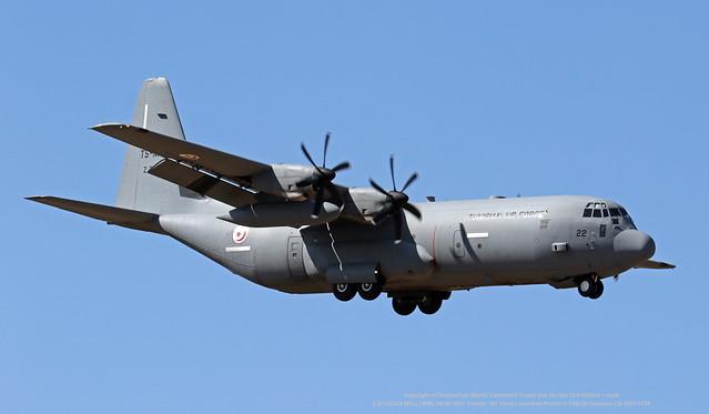 Z 21122 (TS-MTL) LMML 08-06-2021 Tunisia - Air Force Lockheed Martin C-130J-30 Hercules CN 382V-5758