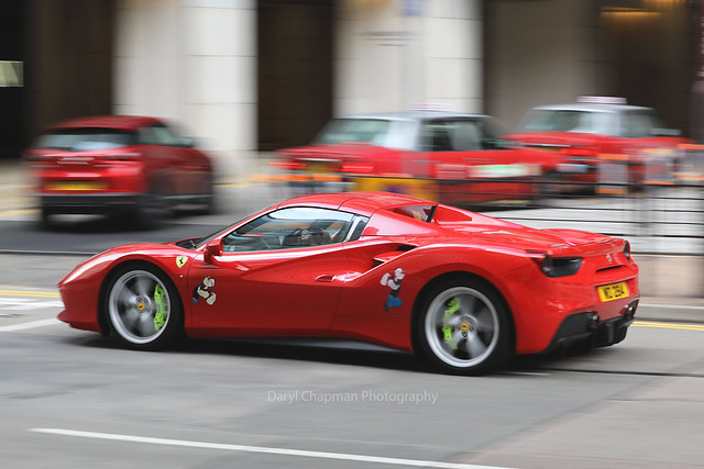 Ferrari, 488 GTB, Tsim Sha Tsui, Hong Kong