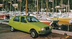 Postcard Citroën Visa Club 4CV à Beaulieu sur Mer (06 Alpes-Maritimes ) Collection L'Auto-Journal 1979a