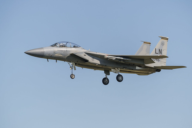 F-15D Eagle 84-0046 493rd FS