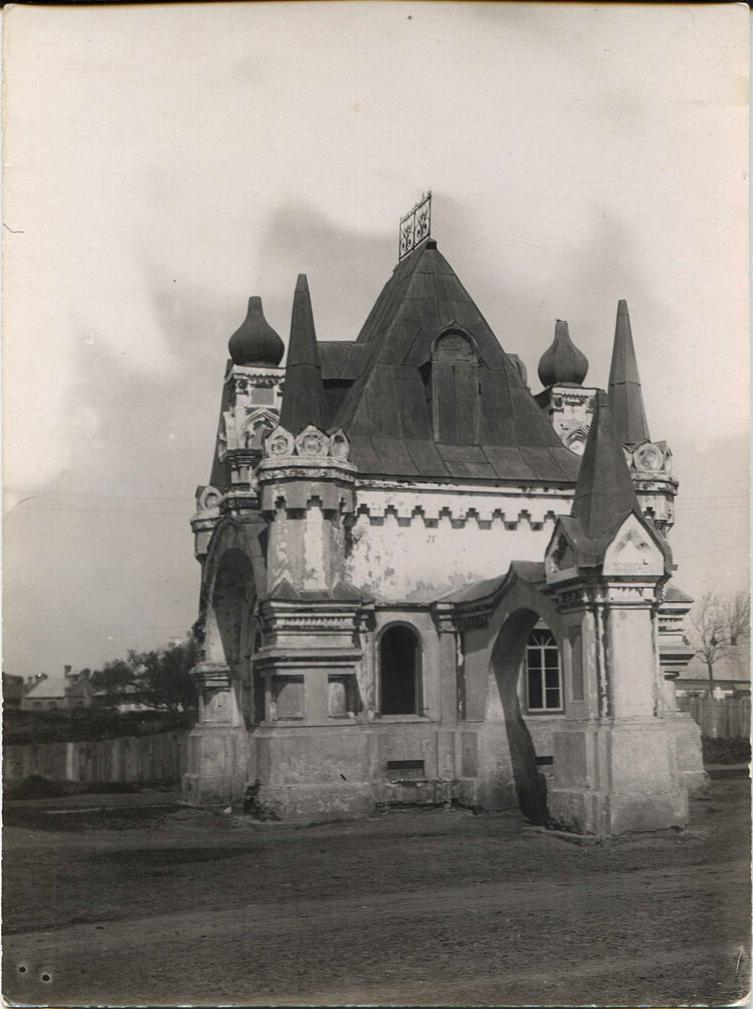Триумфальная арка-часовня построенная в честь приезда Цесаревича Николая Александровича