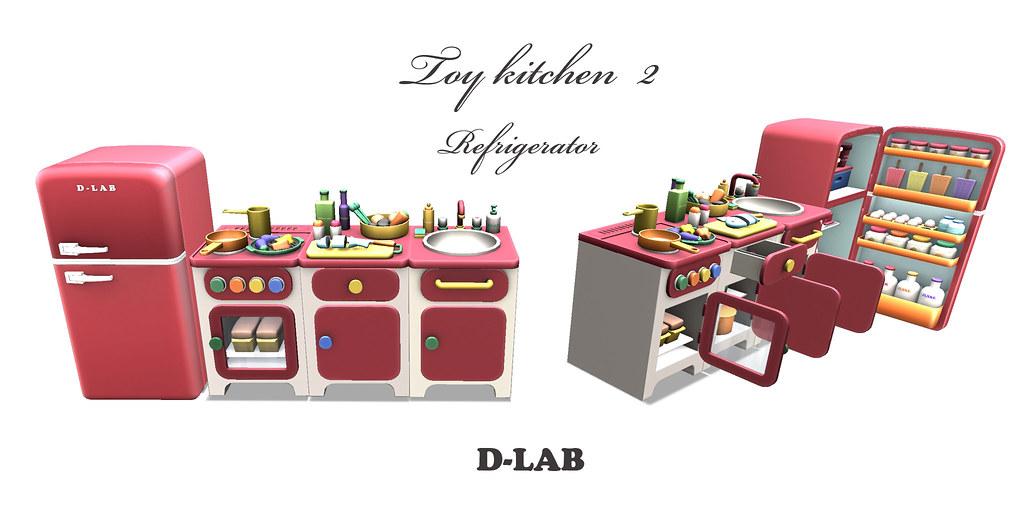 D-LAB Toy kitchen2 2048