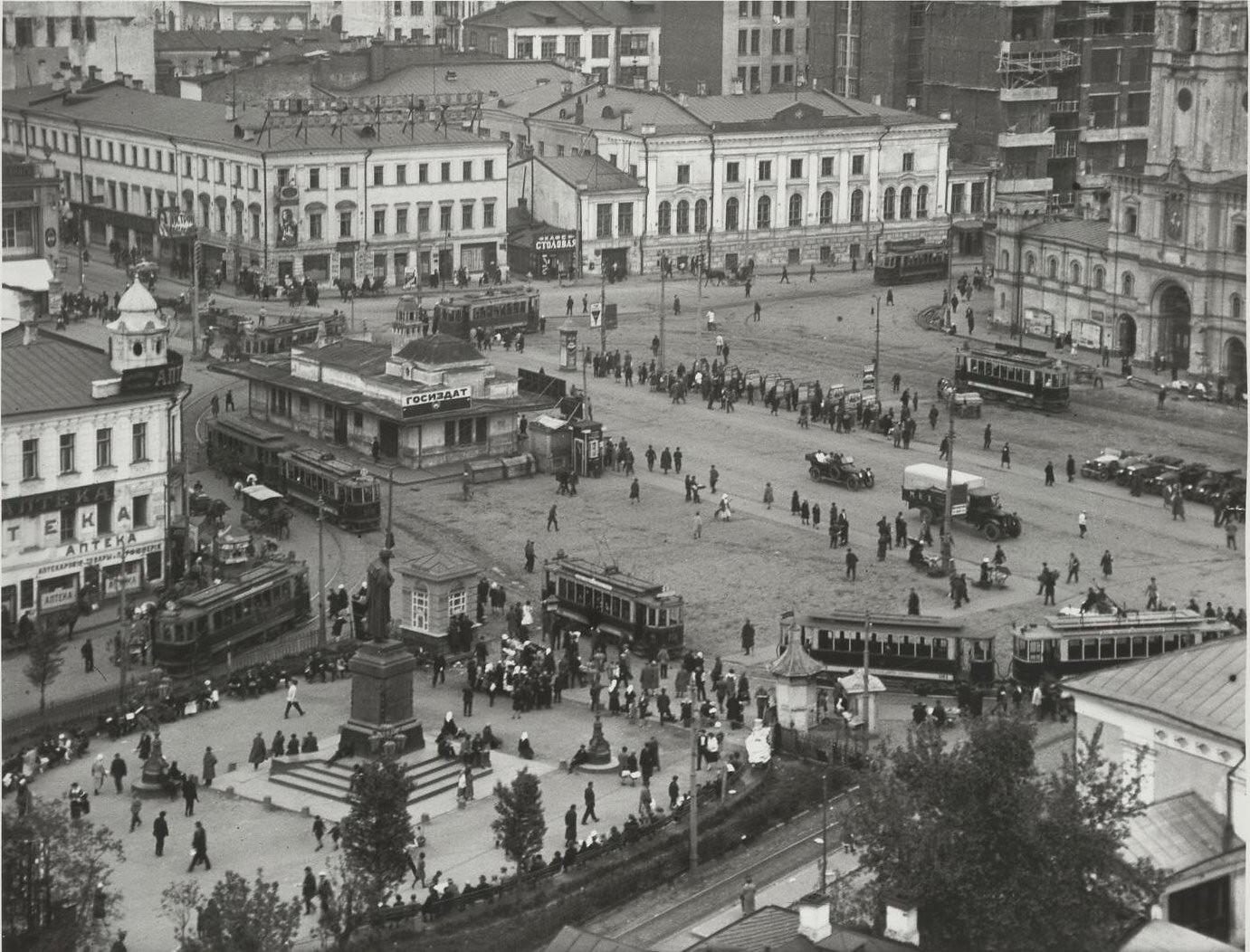 1927. Страстная площадь