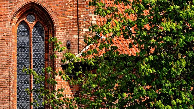 Church with Tree