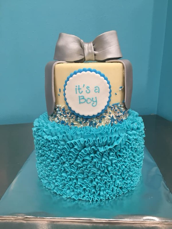 Cake by Out of the Blue Bakery