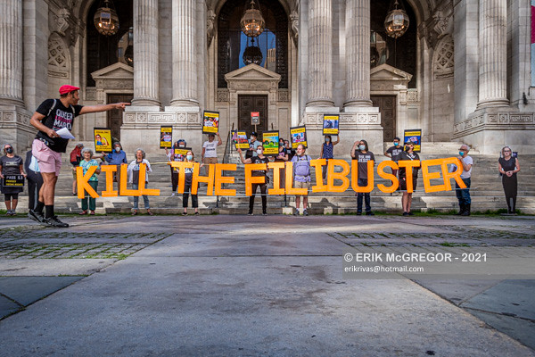 """RISE AND RESIST """"KILL THE FILIBUSTER"""" DEMO"""