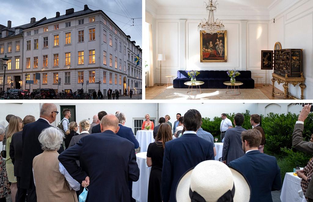 20210609 Sveriges ambassadors residens i Kbh 100 ar