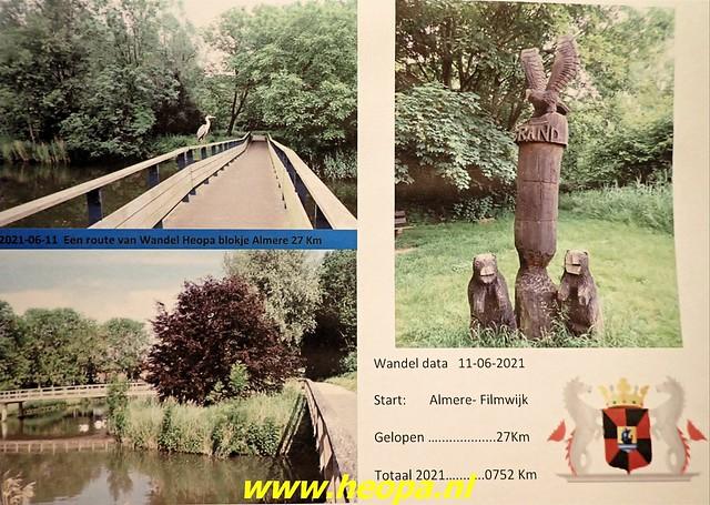 2021-06-11          Almere blokje      27 Km  (64)