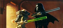 Starkiller confronts Vader