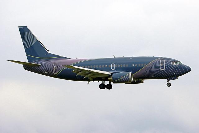 KlasJet Boeing 737-522 LY-FLT FRA 07-06-21