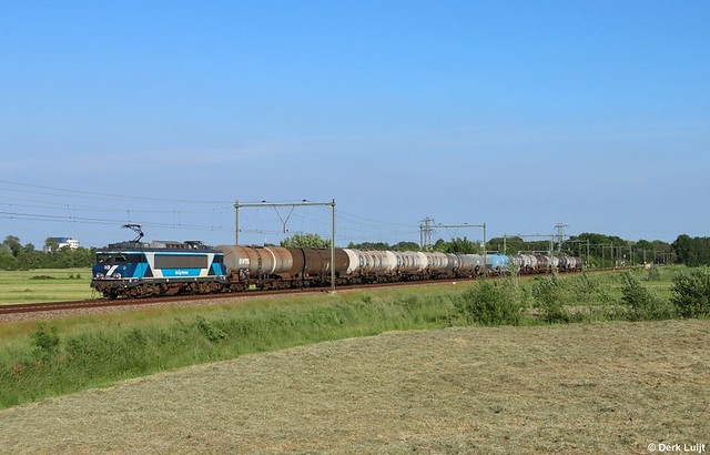 Train Charter Services 101002, Soest, 9-6-2021 19:21