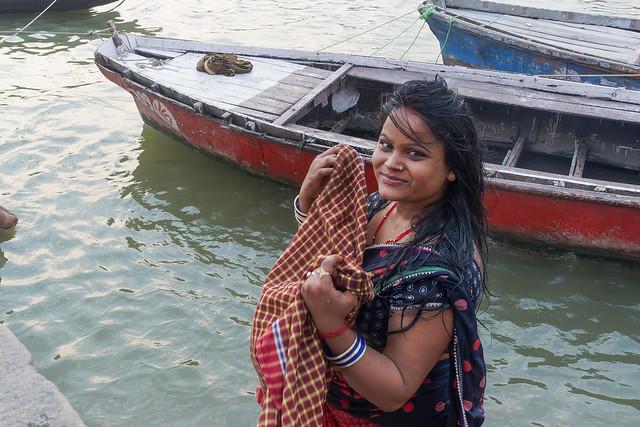 Sourires échangés..Varanasi.India 2017