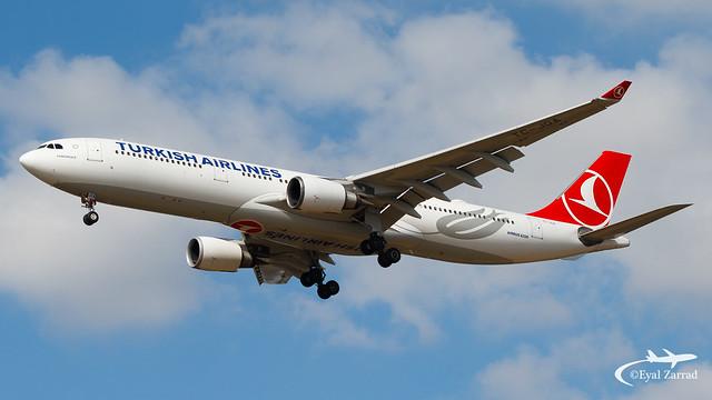 TLV - Turkish Airlines A330-300 Tc-JOA