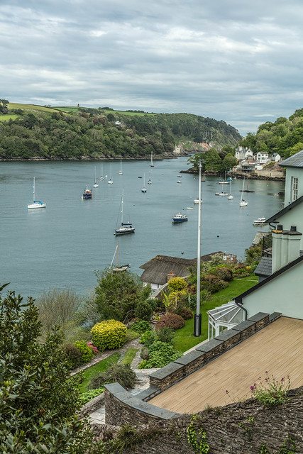 Dartmouth to Kingswear Castle near the mouth of the incomparable River Dart, Devon, England.