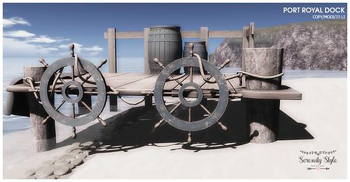 Serenity Style- Port Royal Dock