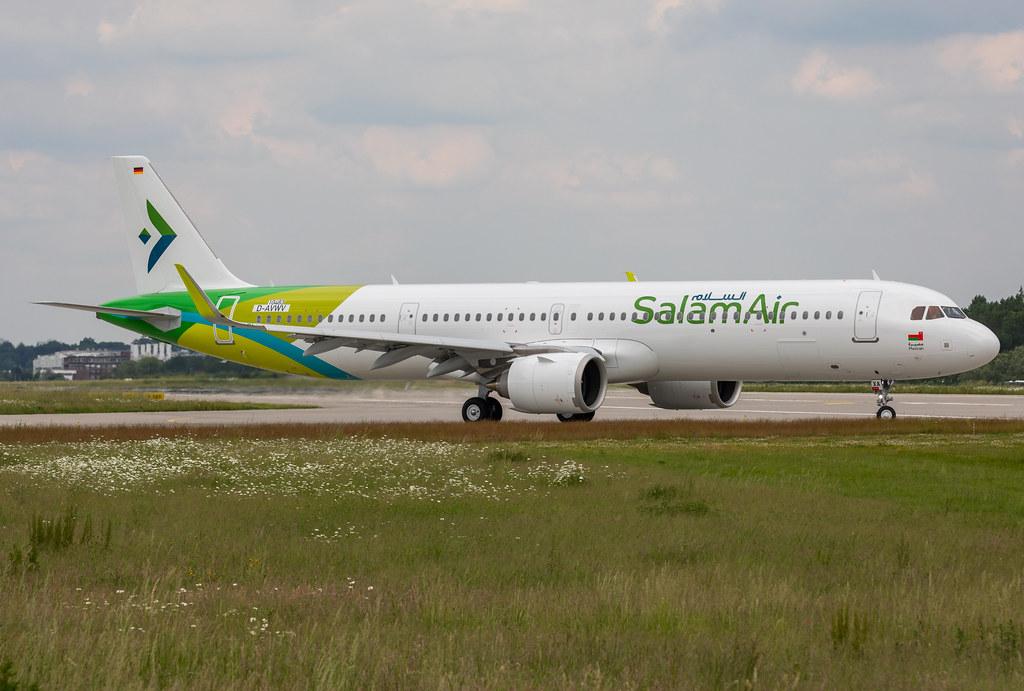 A321-253NX, Salam Air, D-AVWV, A4O-OXA (MSN 10483)