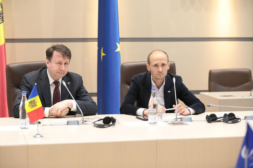 11.06.2021 Întrevederea Fracțiunii ACUM, Platforma DA cu Misiunea preelectorală a APCE