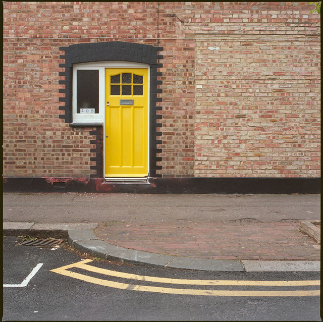 former corner shop - walthamstow (yellow)