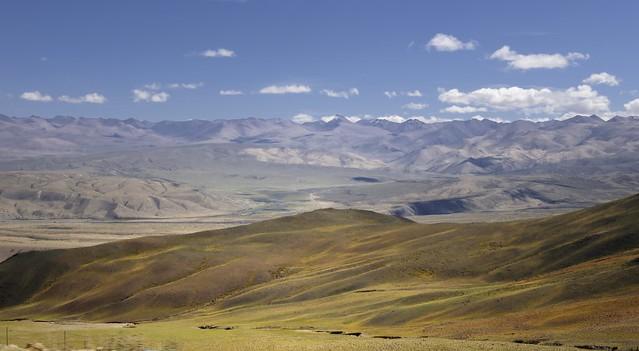 Senge Tsangpo county landscape, Tibet 2019