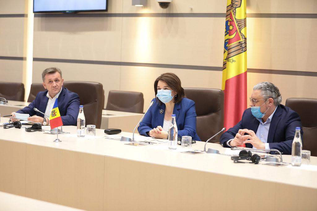 11.06.2021 Întrevederea Fracțiunii PDM cu Misiunea preelectorală a APCE