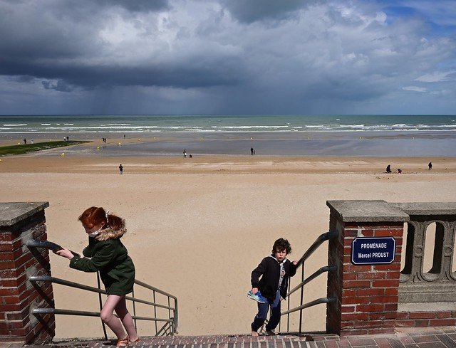 Cabourg Normandie / Promenade Marcel Proust