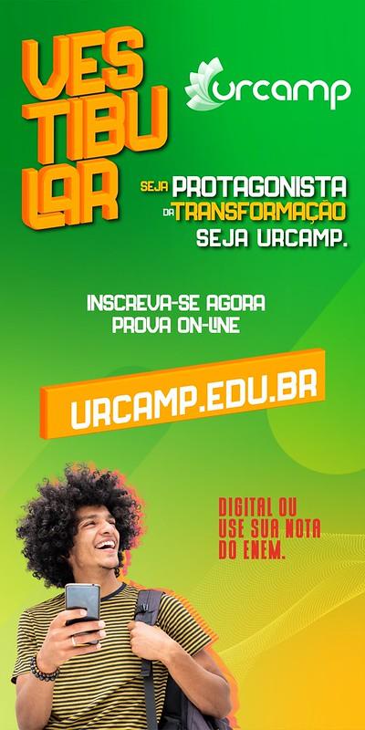 Vestibular Urcamp - Seja o protagonista da sua transformação, seja Urcamp - CLIQUE AQUI