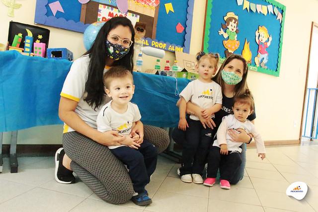 Exposição Regra dos 3R's - Maternal   Unidade Taubaté