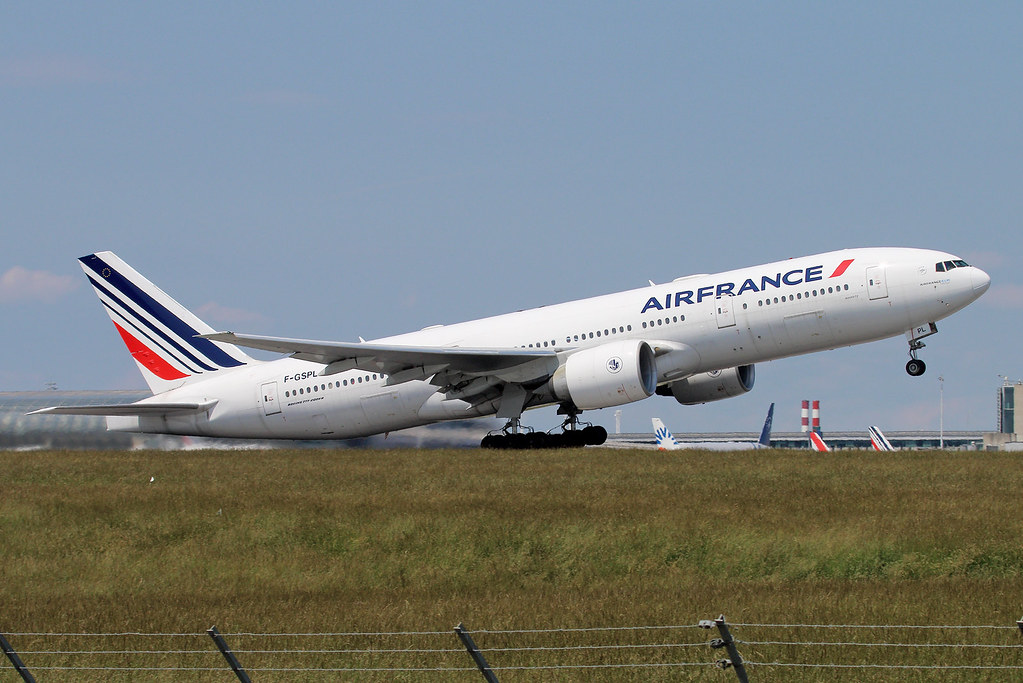 F-GSPL   Air France   Boeing 777-228(ER)    Paris Charles De Gaulle (CDG / LFPG)