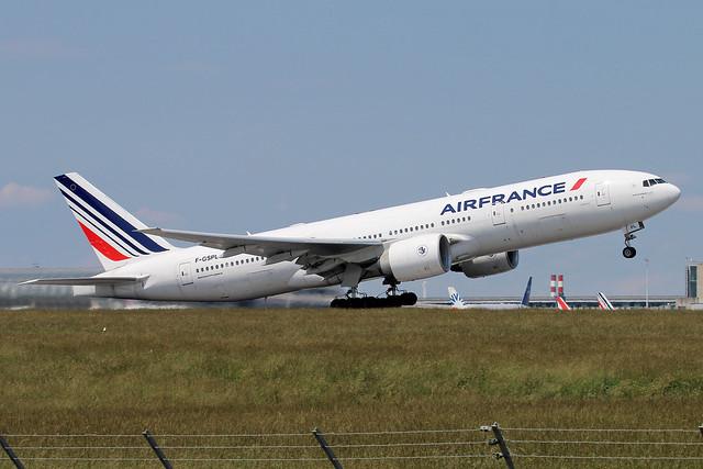 F-GSPL | Air France | Boeing 777-228(ER) |  Paris Charles De Gaulle (CDG / LFPG)