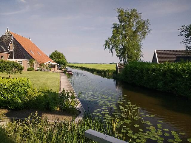 Frysian landscape near Sibrandabuorren - The Netherlands (190323242)