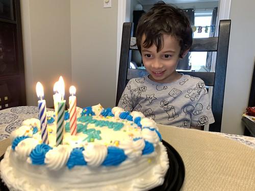 Ezra's Fifth Birthday