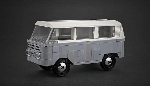Volkswagen T2 Greyscale