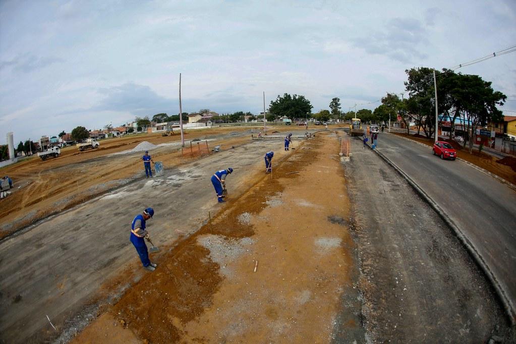 Visita as obras do VLP - linha verde - corredor de mobilidade