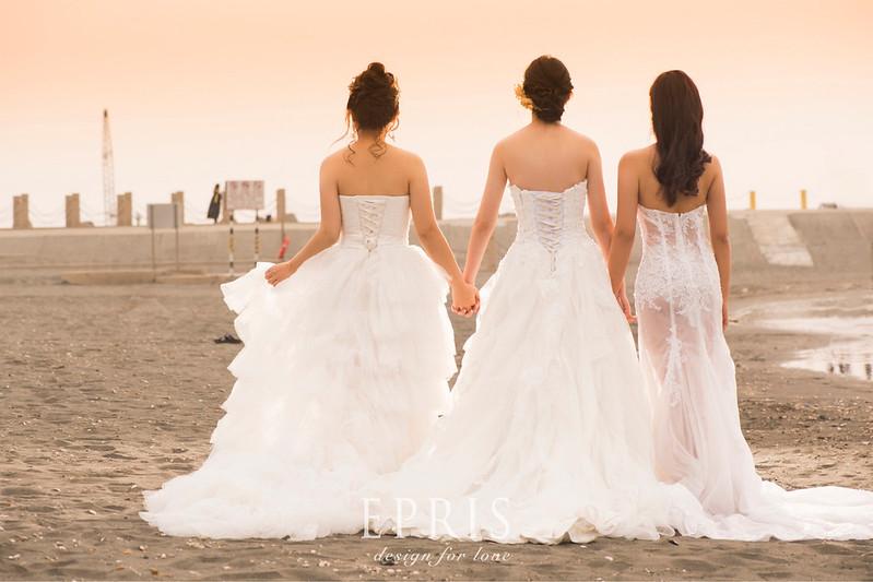 閨蜜拍婚紗