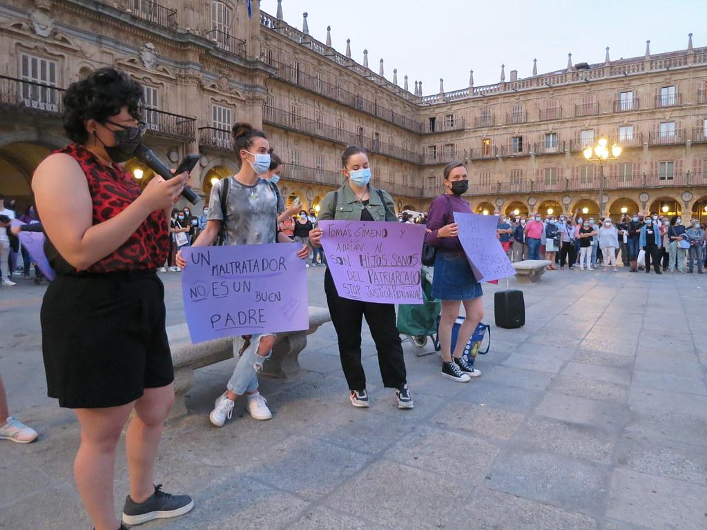 Salamanca en contra de la violencia machista.  (30)