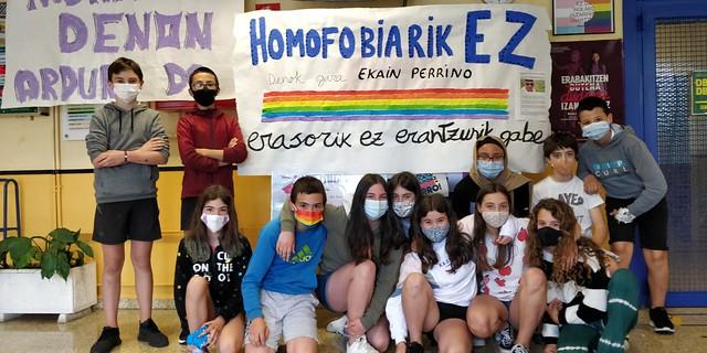 homofobiari aurre!