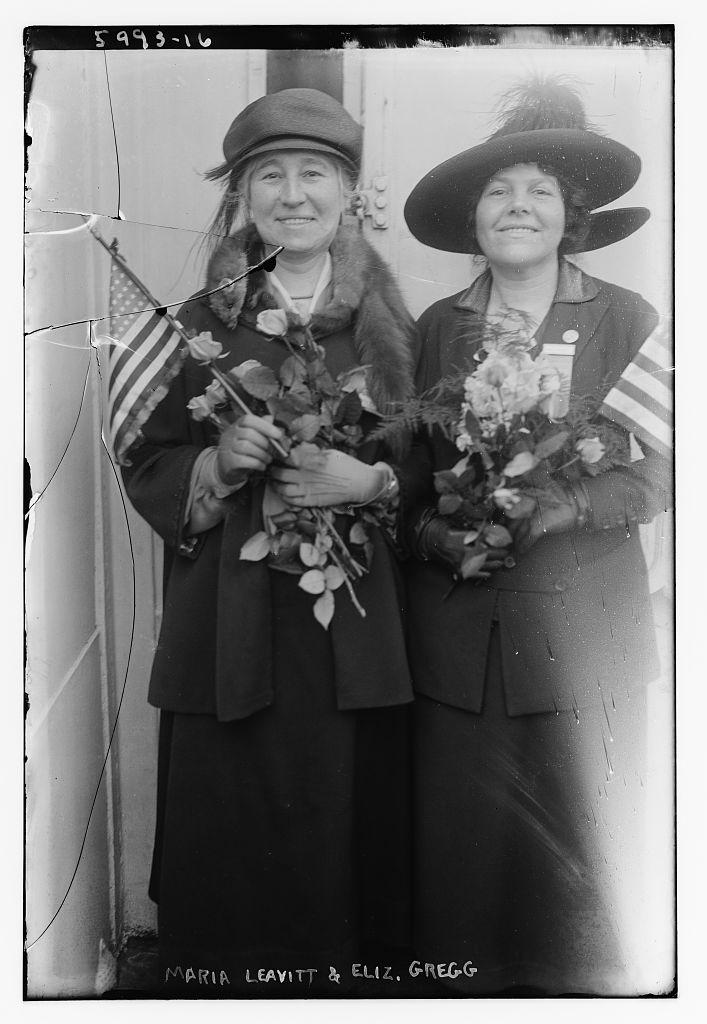 Maria Leavitt and Eliz. Gregg (LOC)