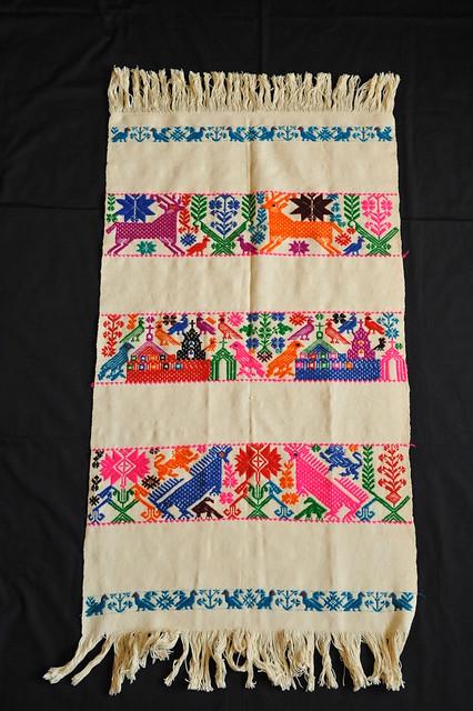 Weaving Textiles Mexico Otomi