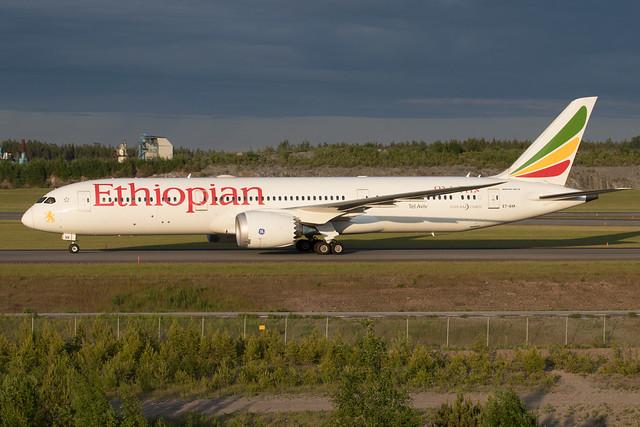 Ethiopian Airlines Boeing 787-9 Dreamliner ET-AXK 210611 ARN