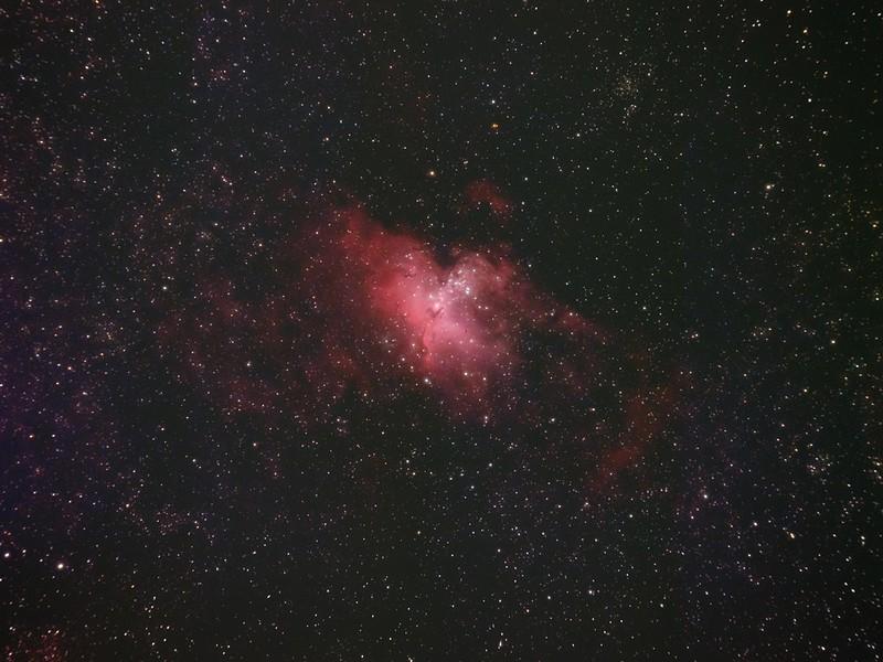M16 わし星雲 (2021/6/9 23:01) (再処理)