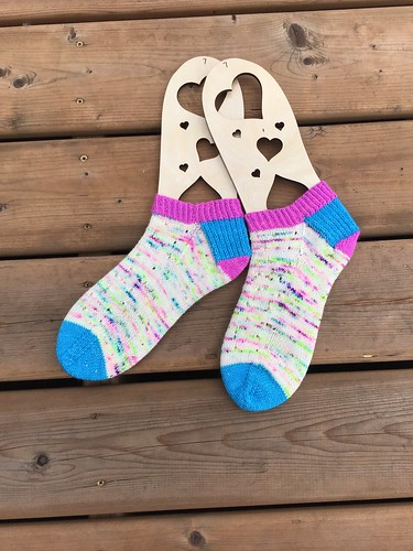 Patti (@patnelann) also finished these The Willow Socks by Knit On Designs.