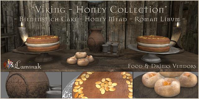 Redeux Exclusive - Honey Collection - Bienenstich Cake, Honey Mead & Roman Libum