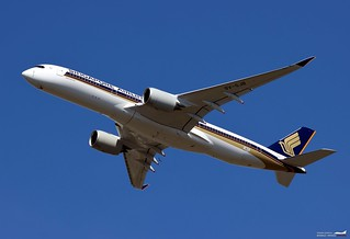 Singapore Airlines Airbus A350-900 9V-SJB