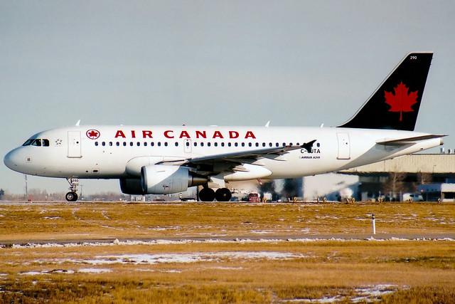 Air Canada | Airbus A319 | C-GJTA | Calgary International