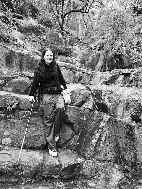 julie at horsnells gully - 2386
