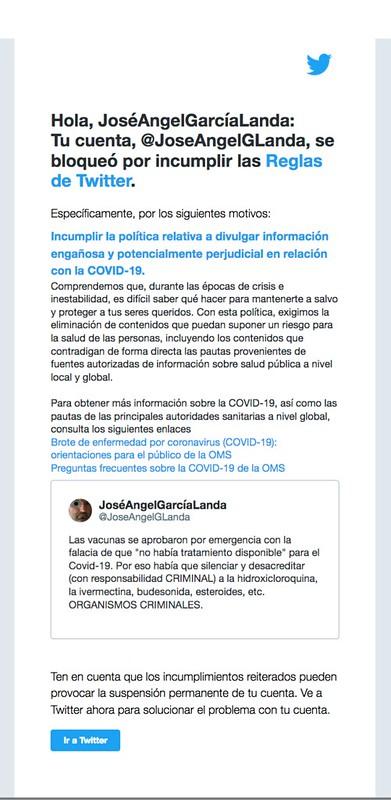 Censura de Twitter 2