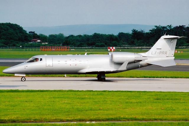 Private | Bombardier Learjet 60 | LX-PRA | Manchester International
