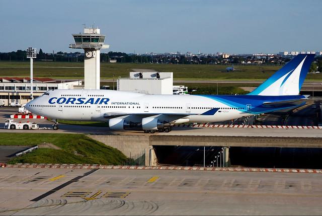F-GTUI | Corsair International | Boeing 747-422 | Paris Orly [ORY / LFPO]